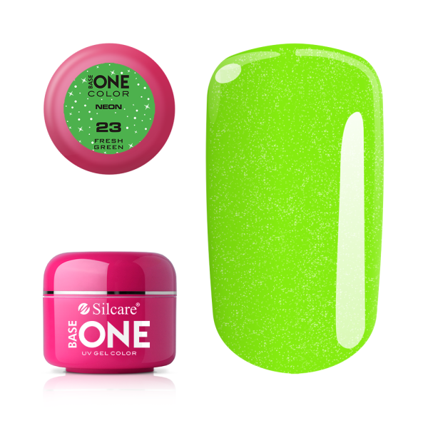 SILCARE UV GEL COLOR NEON 23 FRESH GREEN 5g | GELL ME NGJYRË
