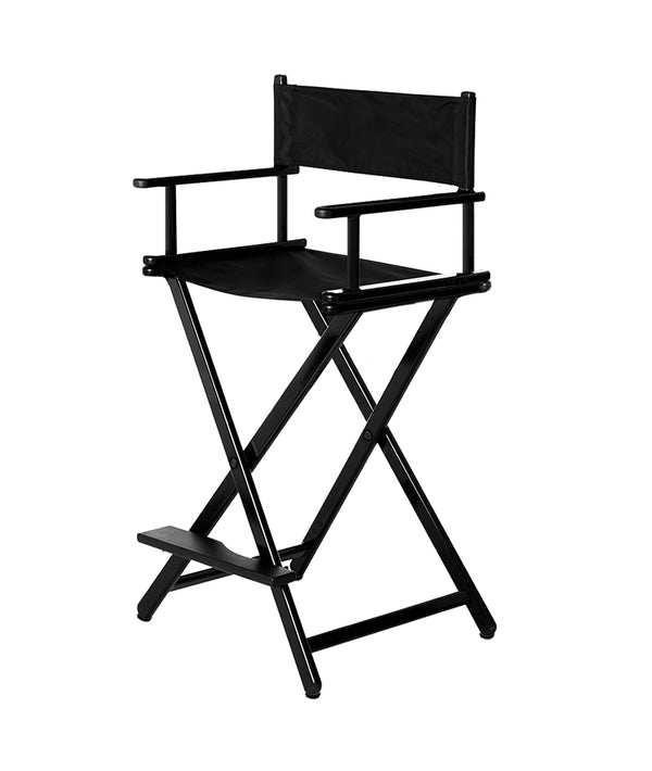 PROFESSIONAL EQUIPMENT STATIC MAKEUP CHAIR (BLACK)