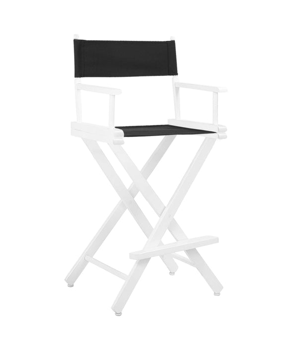 PROFESSIONAL EQUIPMENT STATIC MAKEUP CHAIR (WHITE)