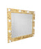 PROFESSIONAL EQUIPMENT MAKEUP MIRROR WITH LIGHTING 0015H 100X90cm| PASQYRË PËR GRIM ME NDRIQIM