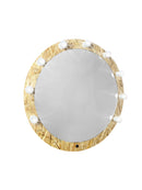 PROFESSIONAL EQUIPMENT ROUNDED MIRROR WITH LIGHTING 0017 83cm | PASQYRË E RRUMBULLAKËT PËR GRIM ME NDRIQIM