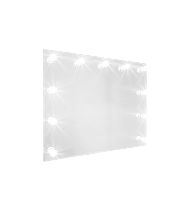 PROFESSIONAL EQUIPMENT MAKEUP MIRROR WITH LIGHTING 0018 100x80cm