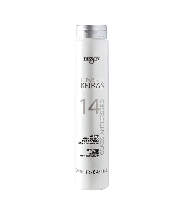 DIKSON KEIRAS FINISH ANTI-FRIZZ GLAZE 14 250ML | KREM KUNDËR ELEKTRIZIMIT