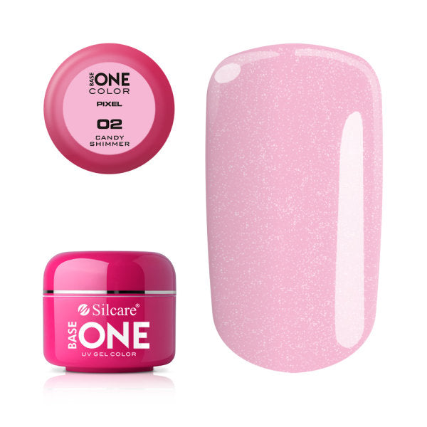 BASE GEL ONE PIXEL CANDY SHIMMER 02 5G | GELL ME NGJYRË