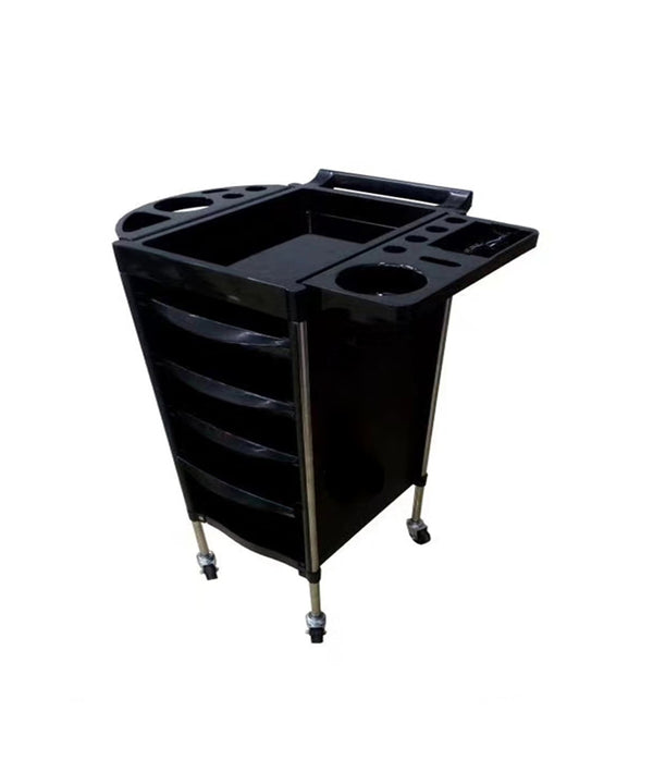 PROFESSIONAL EQUIPMENT SALON TROLLEY (BLACK) Q16-1 | KARROCË E ZEZË