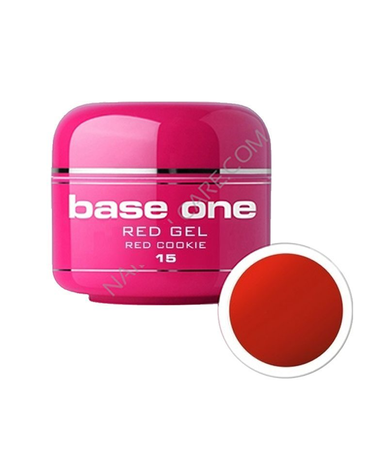 SILCARE UV GEL COLOR RED 15 RED COOkIE 5g | GELL ME NGJYRË