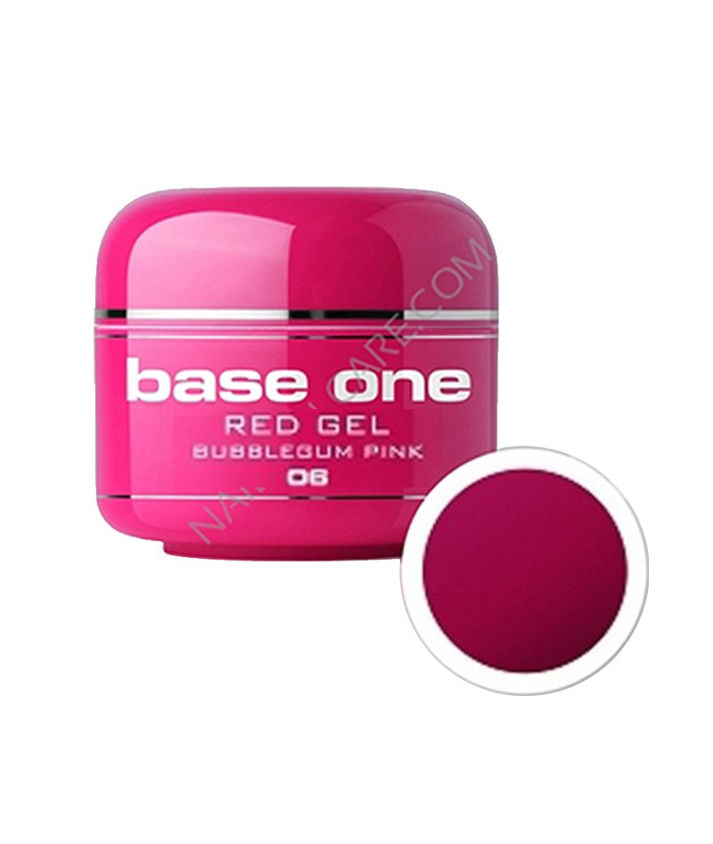 SILCARE UV GEL COLOR RED 06 BUBBLEGUM PINKL 5g | GELL ME NGJYRË