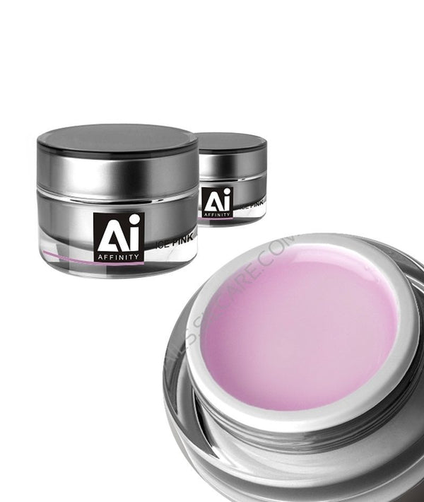 SILCARE AI AFFINITY ICE PINK GEL 30G | GELL PËR THONJ