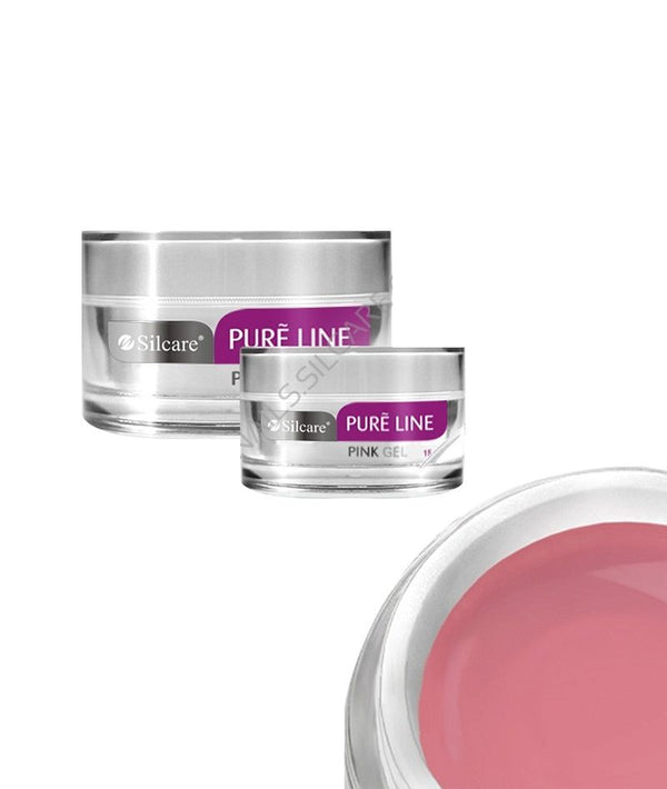 SILCARE PURE LINE PINK GEL 50G | GELL NDËRTUES