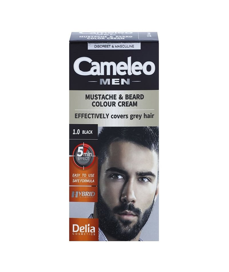DELIA CAMELEO MEN HAIR COLOR CREAM FOR BEARD LIGHT BROWN 5.0 30ml | NGJYRË PËR MJEKËR