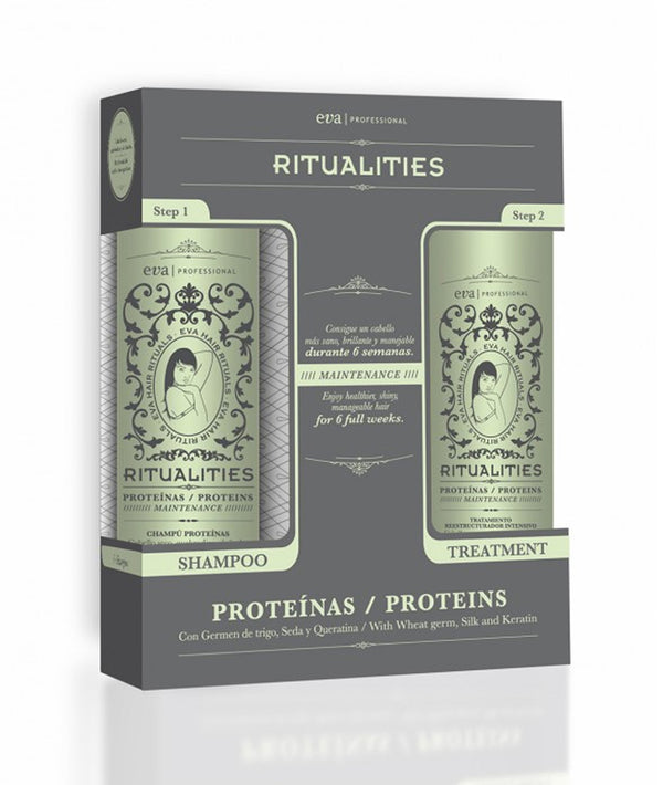 EVA RITUALITIES PROTEINS SHAMPO & TREATMENT