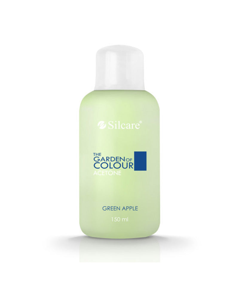 SILCARE THE GARDEN OF COLOUR ACETONE GREEN APPLE 150ML | HEQËS I LLAK GELLIT
