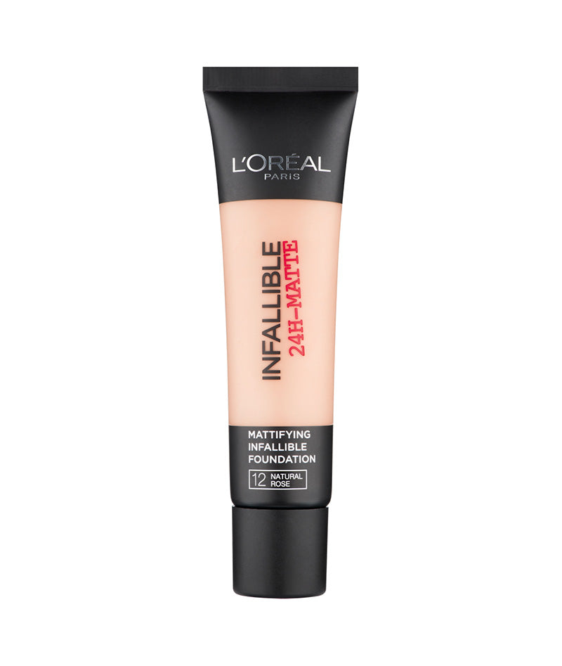 L'OREAL FOUNDATION INFALLIBLE 24HR 12 35ML | PUDËR E LËNGËT