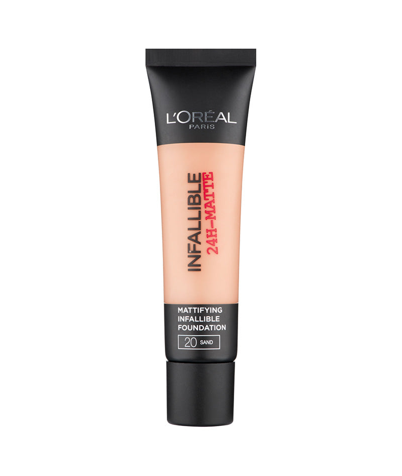 L'OREAL FOUNDATION INFALLIBLE 24HR 20 35ML | PUDËR E LËNGËT