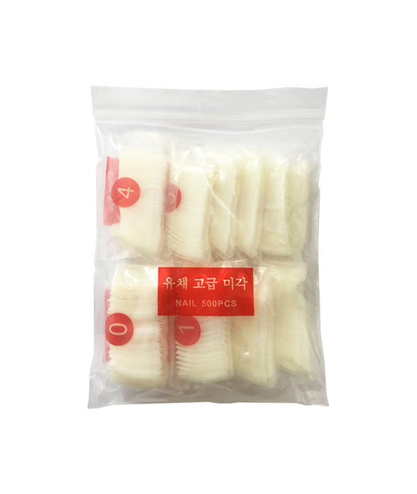 ALLURE HUA SHENG MEI TIPS NAIL BAG (BIG) 1X500PCS | TIPSA PËR THONJ