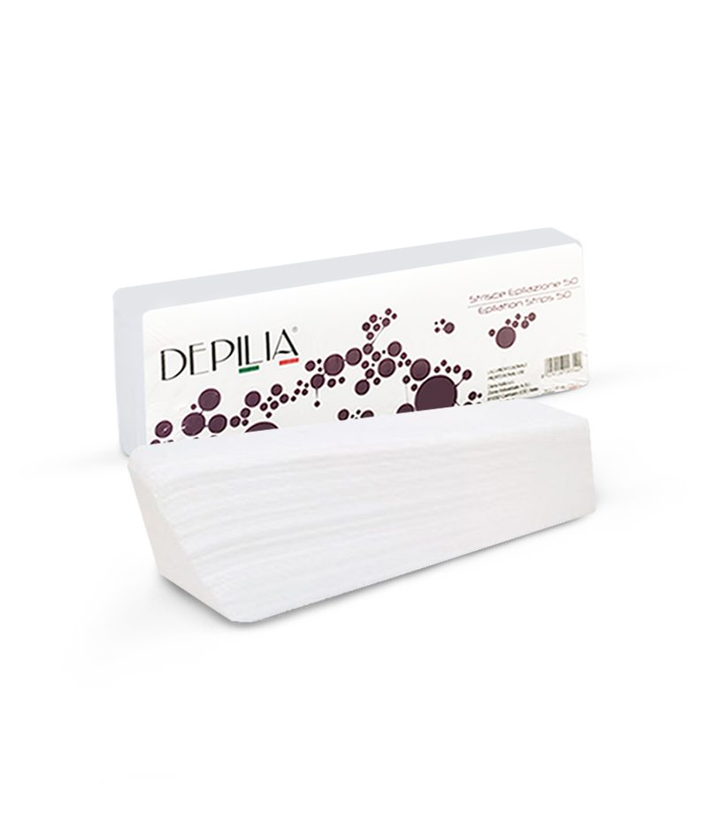 DEPILIA STRIPS FOR EPILATION 1x50pcs | LETËR DEPILIMI