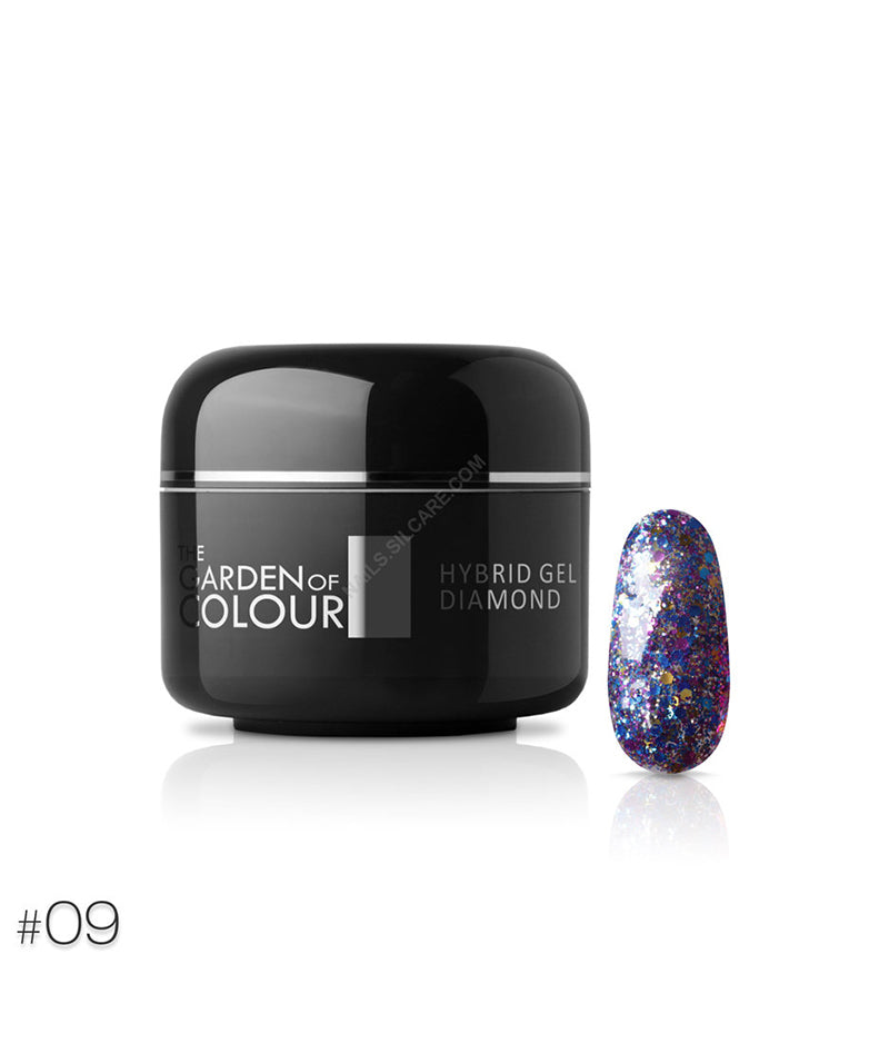 SILCARE THE GARDEN OF COLOUR HYBRID GEL DIAMOND 09 5G | GELL ME NGJYRË