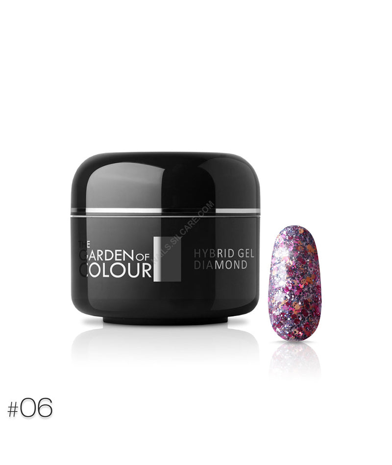 SILCARE THE GARDEN OF COLOUR HYBRID GEL DIAMOND 06 5G | GELL ME NGJYRË