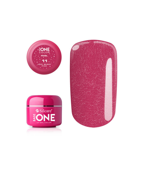 BASE GEL ONE PIXEL VERY BERRY PINK 11 5G | GELL ME NGJYRË