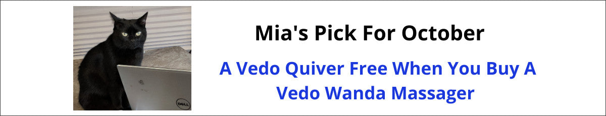 Mia's Pick for October is a free Vedo Quiver when you buy a Vedo Wanda
