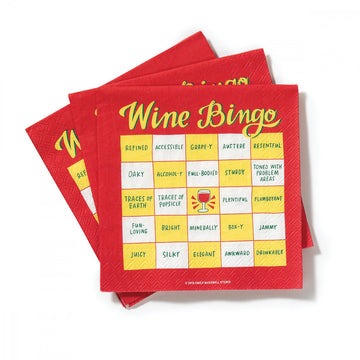 Wine Bingo<br> Cocktail Napkins<br>Pack of 20 aw-sex-products.