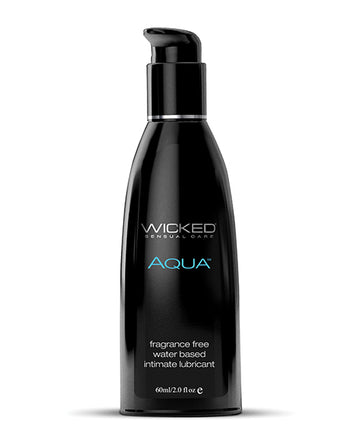 Wicked<br>Aqua <br>Water Based<br> Lubricant<br> Fragrance Free aw-sex-products.