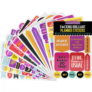 F*cking Brilliant Planner Stickers