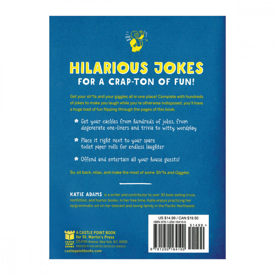 Sh*ts and Giggles<br>The<br>Ultimate<br>Bathroom Joke<br>Book aw-sex-products.