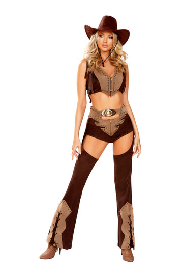 Roma Western Cowgirl Chaps Costume