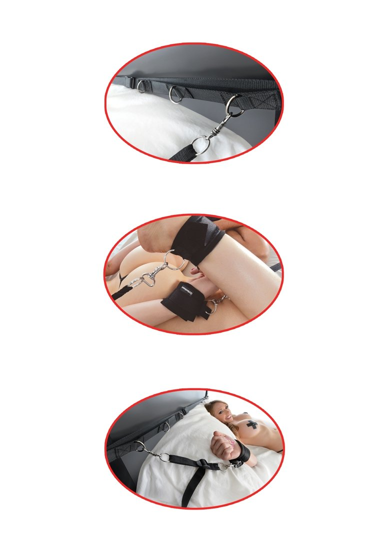 Fetish Fantasy Ultimate Bed Restraint System aw-sex-products.