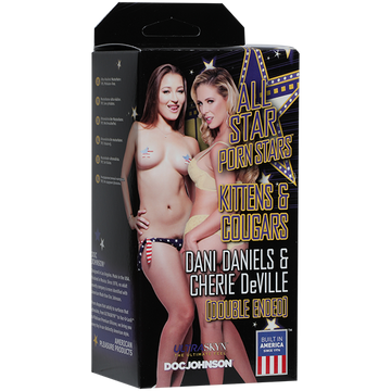 All Star Porn Star Strokers - Kittens and Cougars: Dani Daniels and Cherie DeVille aw-sex-products.