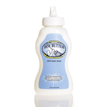 Boy Butter<br> Lubricant<br> H2O Formula<br>9 oz Squeeze Bottle aw-sex-products.