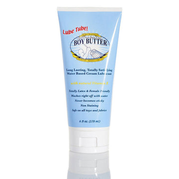 Boy Butter<br> Lubricant<br> H2O Formula<br>6 oz Tube aw-sex-products.