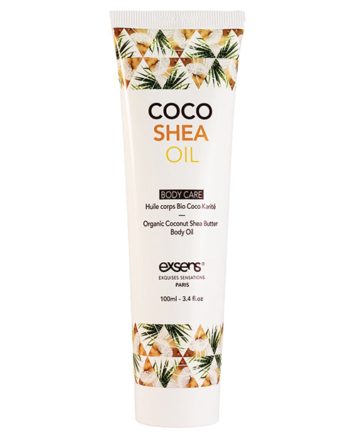 Exsens Organic Coco Shea Oil 100ml aw-sex-products.