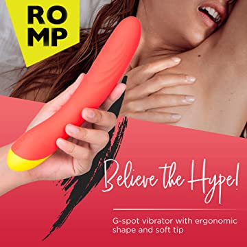ROMP<br> Hype<br> G-Spot Vibrator<br> Clitoral Massaging Toy<br> Mini Bullet aw-sex-products.