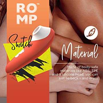 ROMP<br> Switch<br> Clit Sucking Vibrator<br> Clitoral Massaging Toy<br> with 6 Intensity Level aw-sex-products.