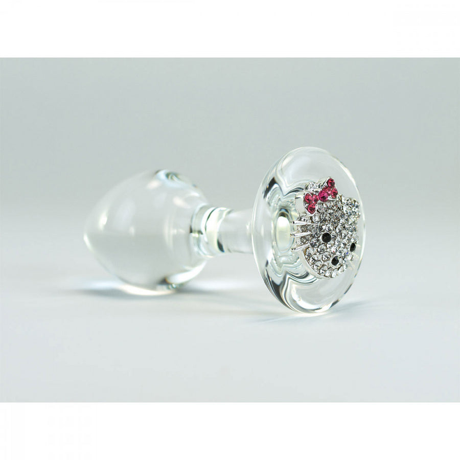 Crystal Delights<br>Clear <br>Kitty Delight <br>Medallion Plug aw-sex-products.
