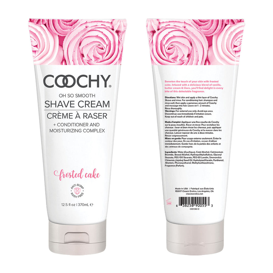 Coochy <br> Shave Cream <br>7 scents<br>12.5 ounce aw-sex-products.