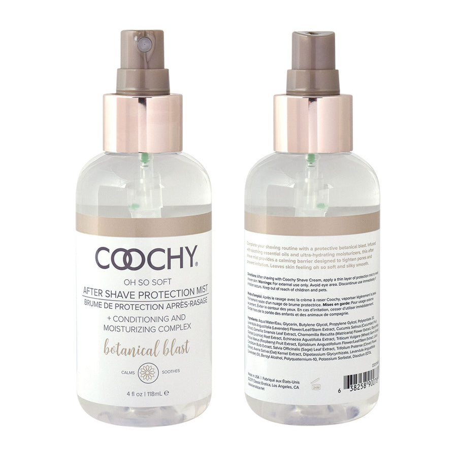Coochy<br> After Shave<br> Protection Mist<br> Botanical Blast <br>4oz aw-sex-products.