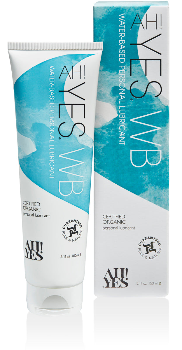 Ah! Yes<br> Organic<br> Water Based<br> Personal Lubricant aw-sex-products.