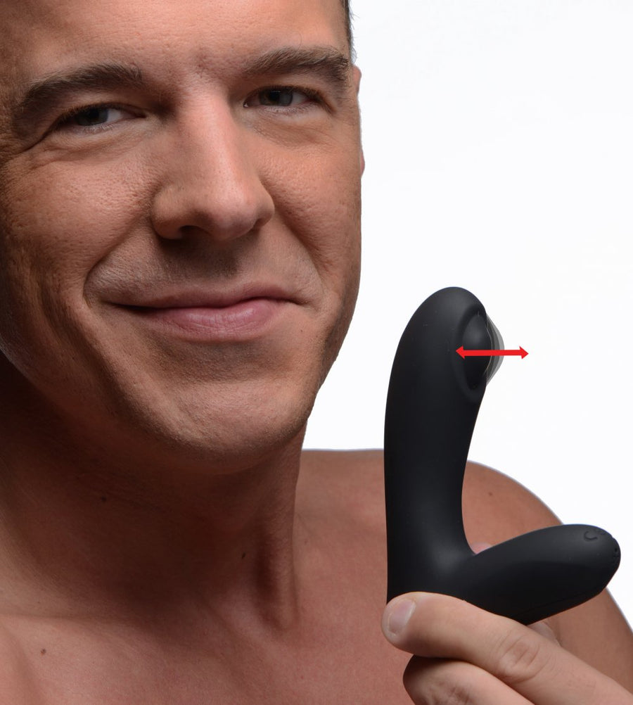 12X Tapping<br>Silicone<br> Prostate Stimulator