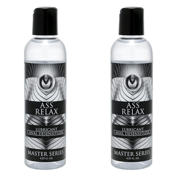 Ass Relax Desensitizing Lubricant <br> 2 bottles aw-sex-products.