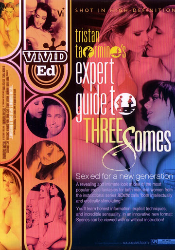 TRISTAN TAORMINO'S<br>EXPERT GUIDE<br>To THREESOMES<br>Educational DVD
