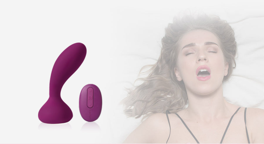 SVAKOM Julie<br>Flexible<br>Wearable<br>Anal & G-Spot<br> Stimulator<br>with Remote Control