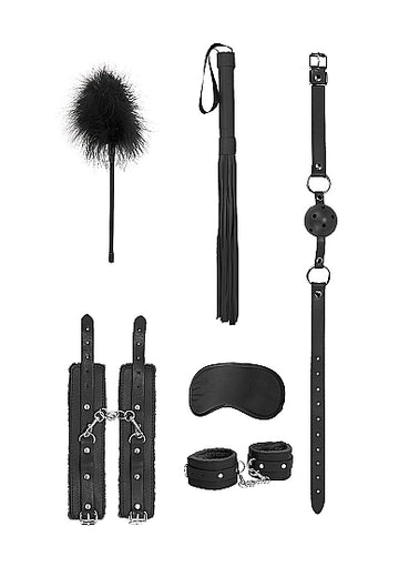 Ouch! <br>Beginners Bondage Kit<br>Black aw-sex-products.