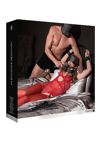 Ouch! <br>Advanced Bondage Kit<br>Black aw-sex-products.