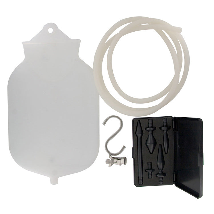 CleanStream<br>Premium Silicone<br>Enema Kit aw-sex-products.