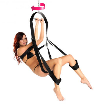 Trinity 360 Degree Spinning Sex Swing aw-sex-products.