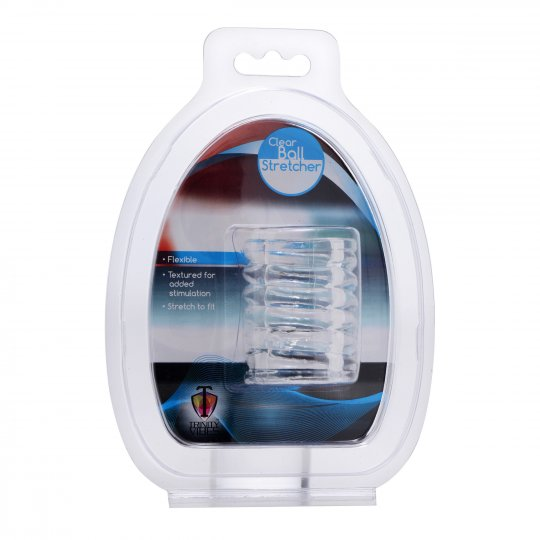 Spiral<br> Ball Stretcher<br> Clear aw-sex-products.