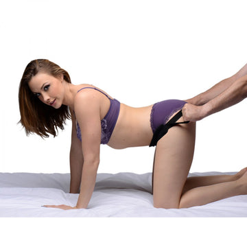 Ass Up Doggy Style Sex Position Aid Strap